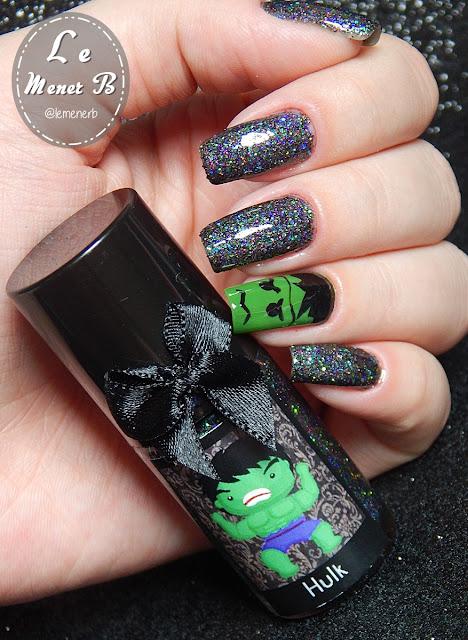 nail art hulk