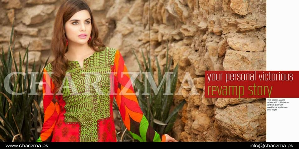 Charizma pakistani summer dresses