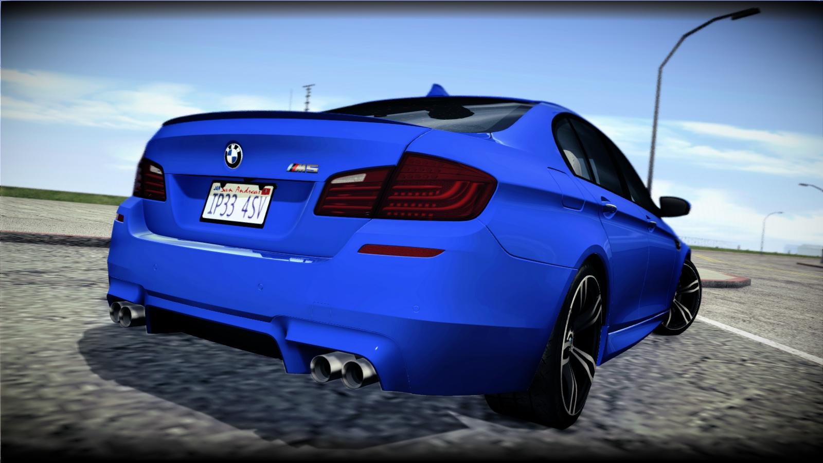 GTA SA ImVehFT BMW M5 F10 2012 PlayMods
