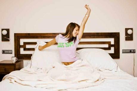 Consigue despertar con energía y de forma activa