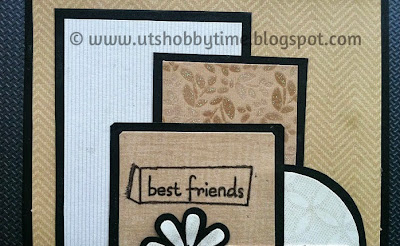 handmade friendship day greeting card