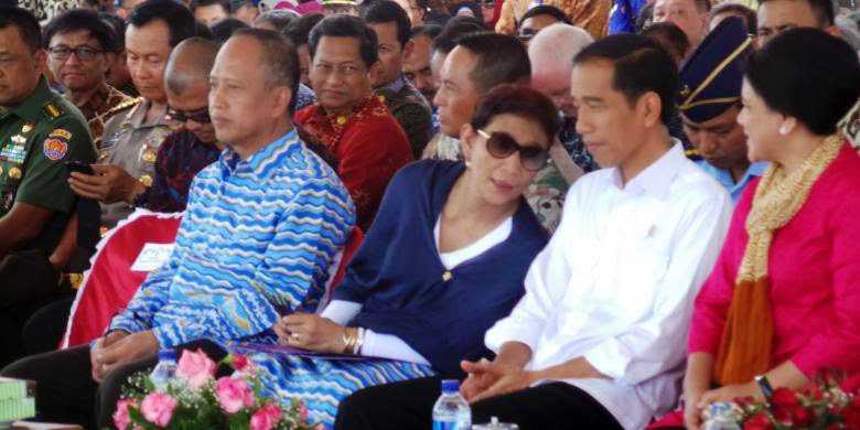 Presiden Jokowi Dodo