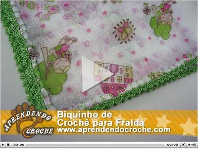 De Croch   De Cada Cor E Presentear   Um Belo Conjunto De Fraldas