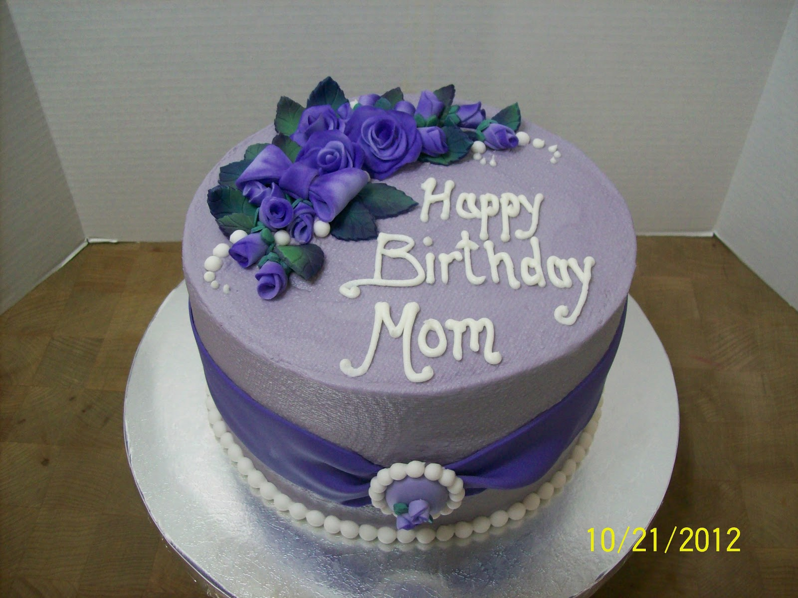 Cake Design For Mothers : Image Gallery october birthday cakes mom