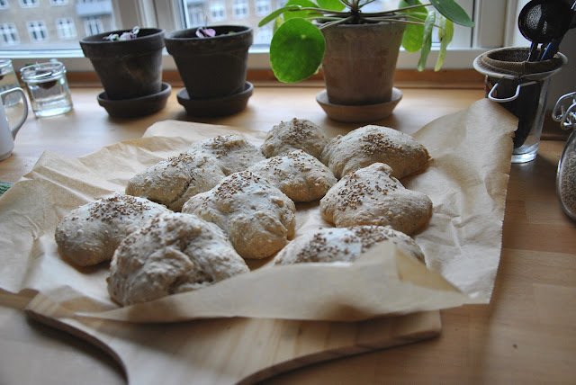 Frühstücksbrötchen in Kopenhagen: Nachher