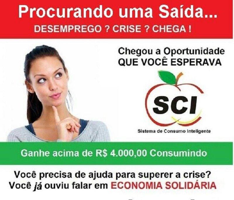 Ganhe mais de 4 mil reais por mês comendo arroz com feijão fazendo SCI