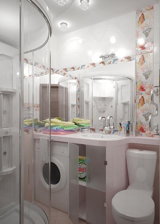 Decorar ba o lavadora - Instalar lavadora en bano ...