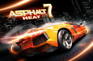 تحميل لعبة اسفلت 7 للاندرويد والايفون download asphalt 7 heat