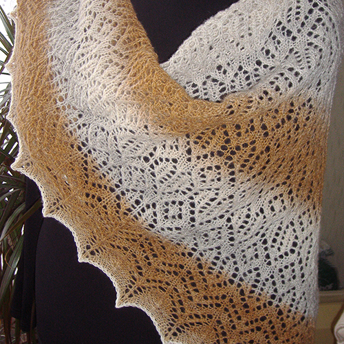 Knitting In The Heartland 2015 : Daily knitting patterns heartland lace shawl
