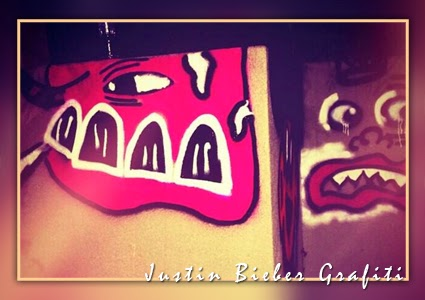 Justin Bieber Grafiti