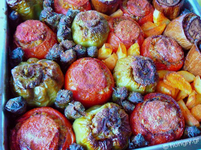 Baked Stuffed Vegetables