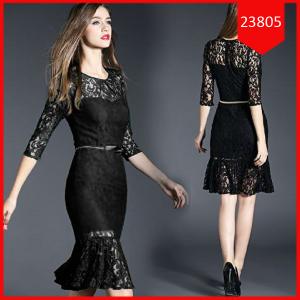 Busana: Dress Black Ambrosia (BBB-072)