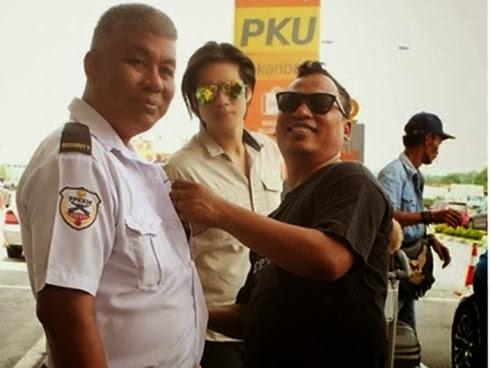 Pak Guard Azman jadi pelakon...