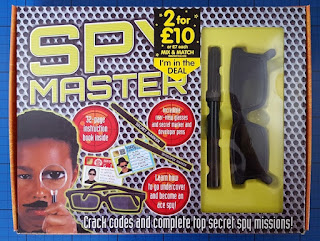 Coolest Spy set for kids backwards looking glasses