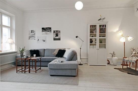 Inspirasi Apartement Dominasi Warna Putih