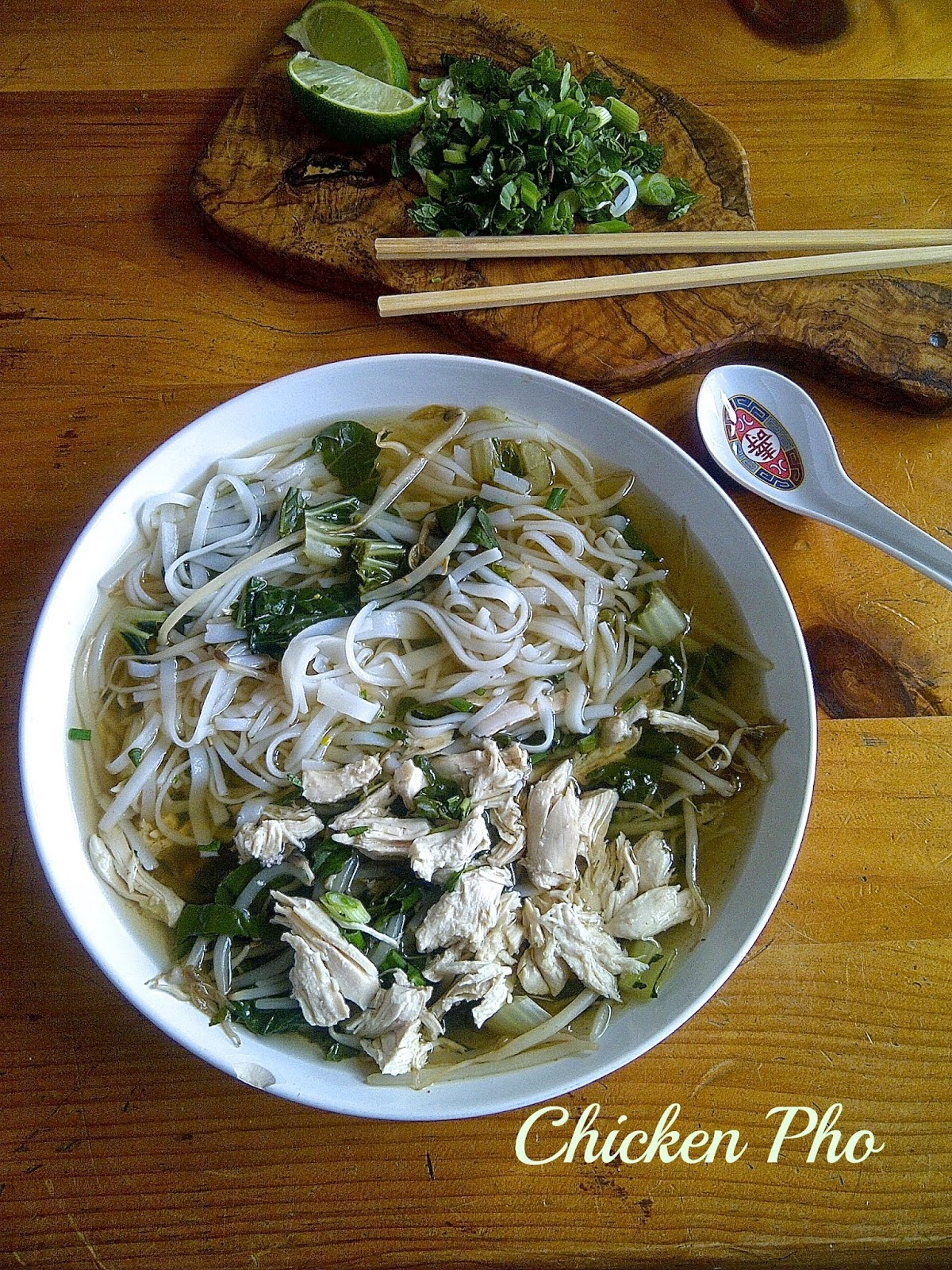 Chicken Pho - www.soliloquyoffood.com