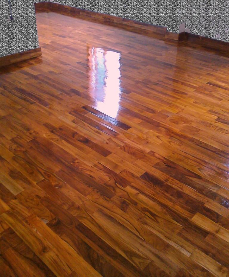 lantai kayu minimalis