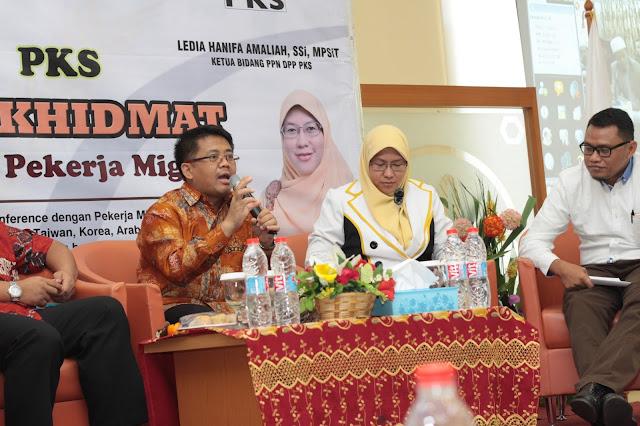 Presiden PKS Desak Amandemen UU Penempatan dan Perlindungan TKI