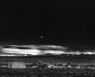 Ansel Adams, Moonrise, Hernandez New Mexico, 1941