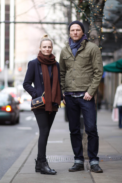 Aga Artur Jarowicz winter layering Seattle Street Style Fashion It's My Darlin'