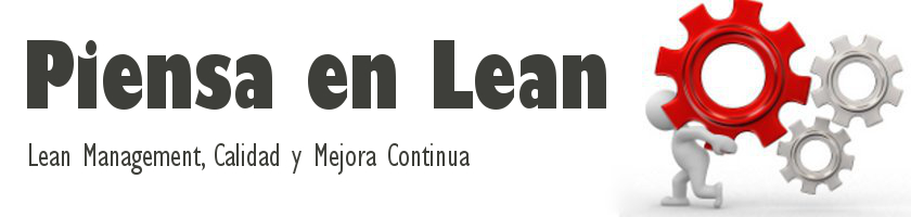 Piensa en Lean | lean management, calidad y mejora continua