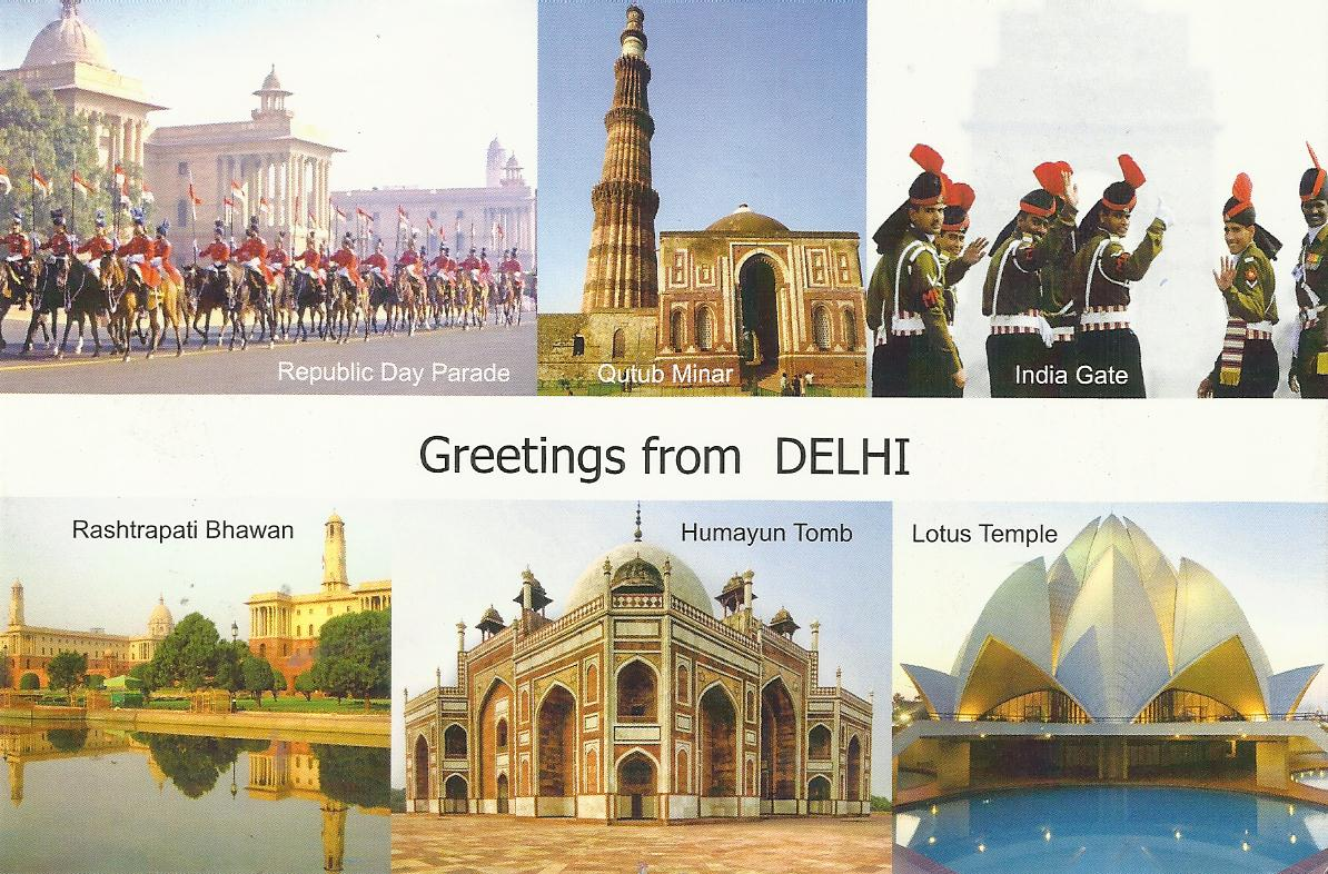 Heritage of india greetings from delhi post cards greetings from delhi post cards kristyandbryce Choice Image
