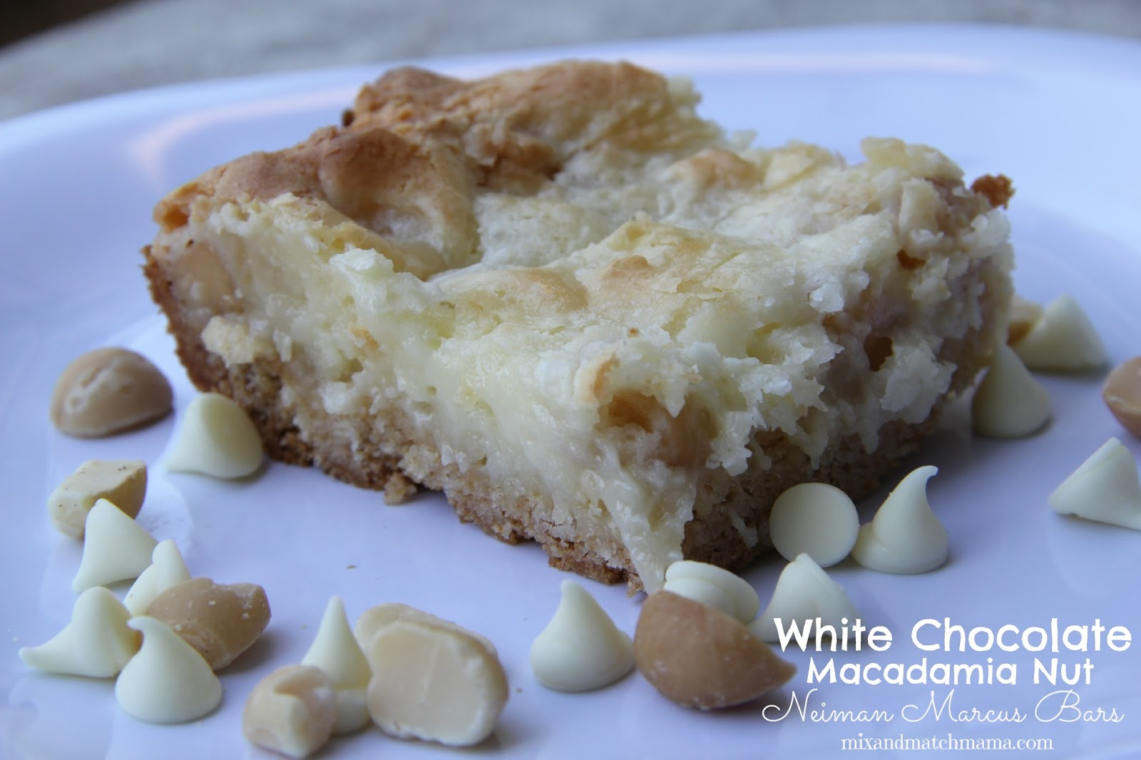 ... Match Mama: Bar 51: White Chocolate Macadamia Nut Neiman Marcus Bars