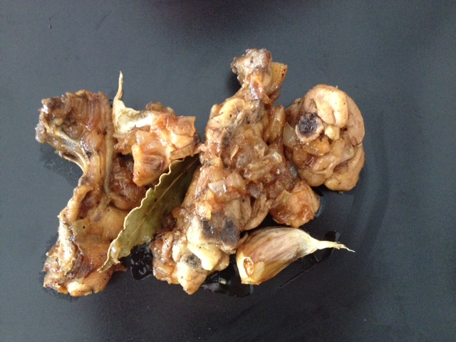 Pollo al vino de Jerez