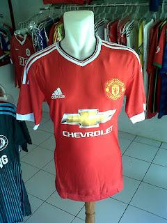 Jual Jersey Manchester United Home 2015/2016 di toko jersey jogja sumacomp, murah berkualitas import
