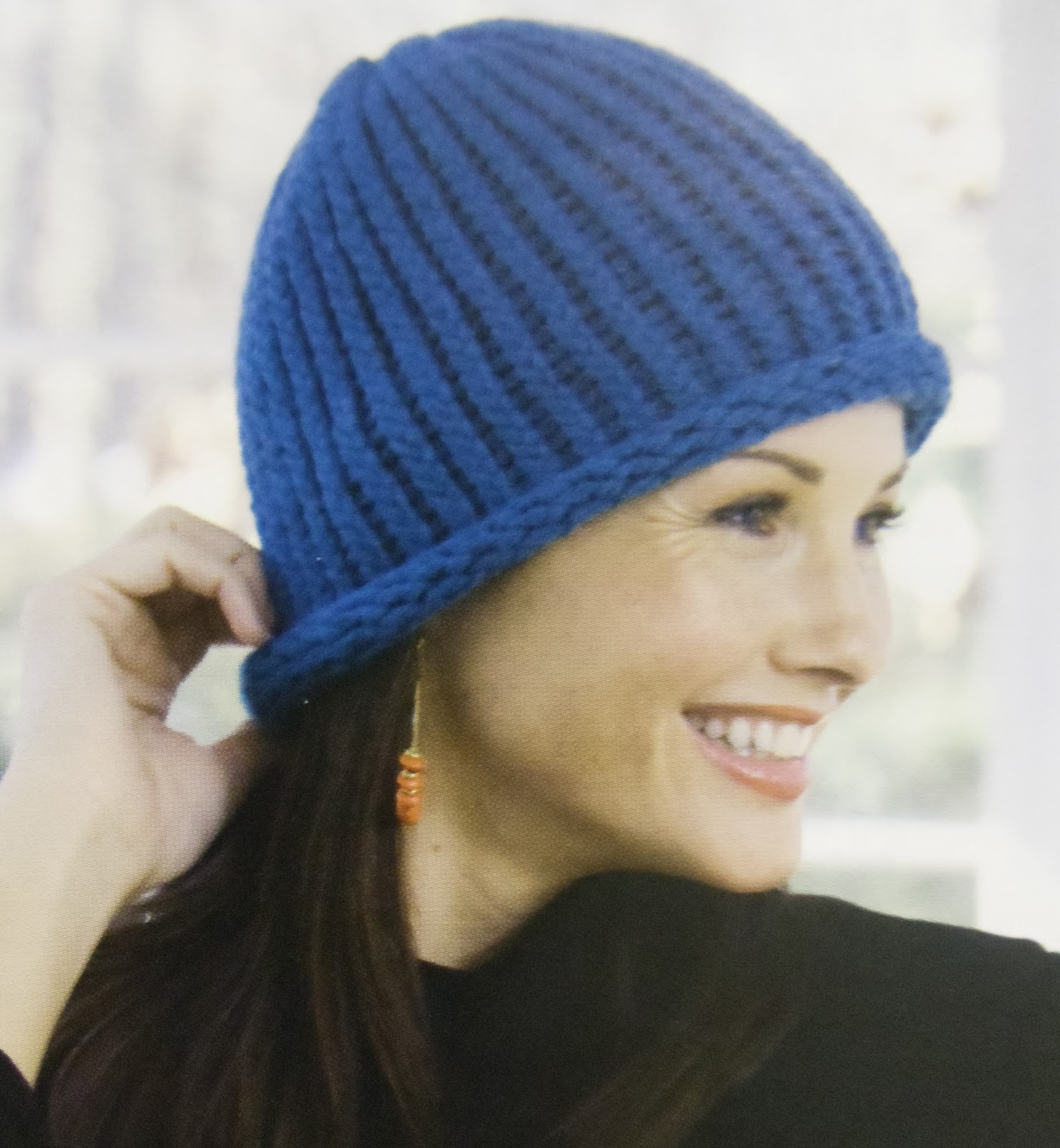 Knitting Loom Hat : Everyday life at leisure loom knitting nd baby hat complete