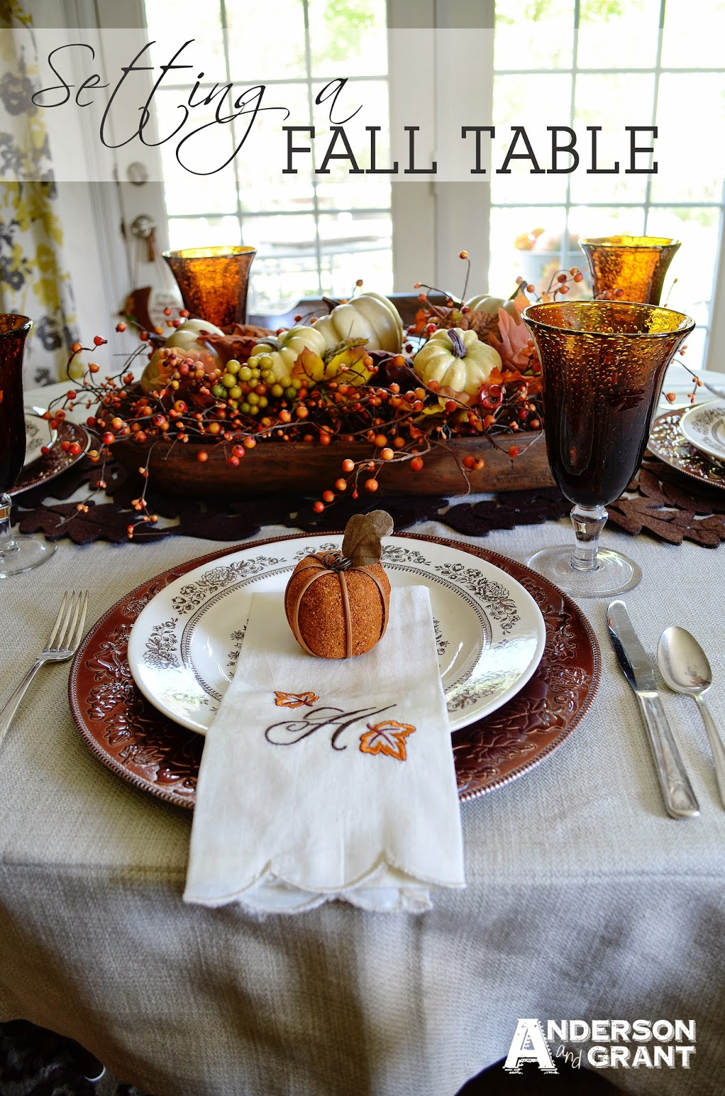 Thanksgiving recipes and decor ideas on pinterest for Fall table
