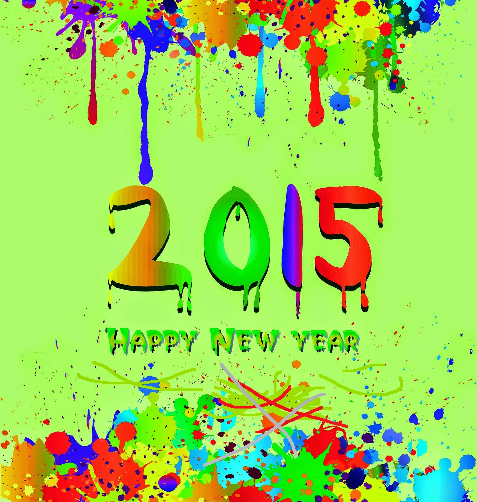 Best Of Happy New Year 2015 Wishing Cards