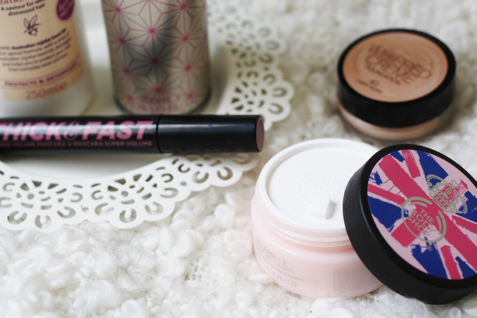 Colab Aussie Soap and Glory Maxfactor The Body Shop Favourites from the High Street