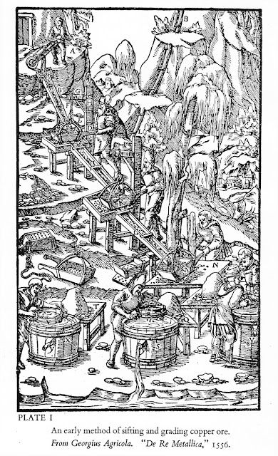 "Georgius Agricola.  ""De Re Metallica"" 1556"