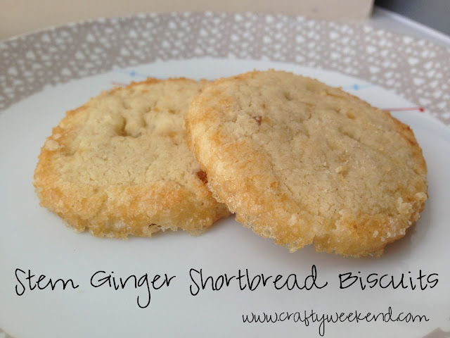 stem ginger biscuit recipe