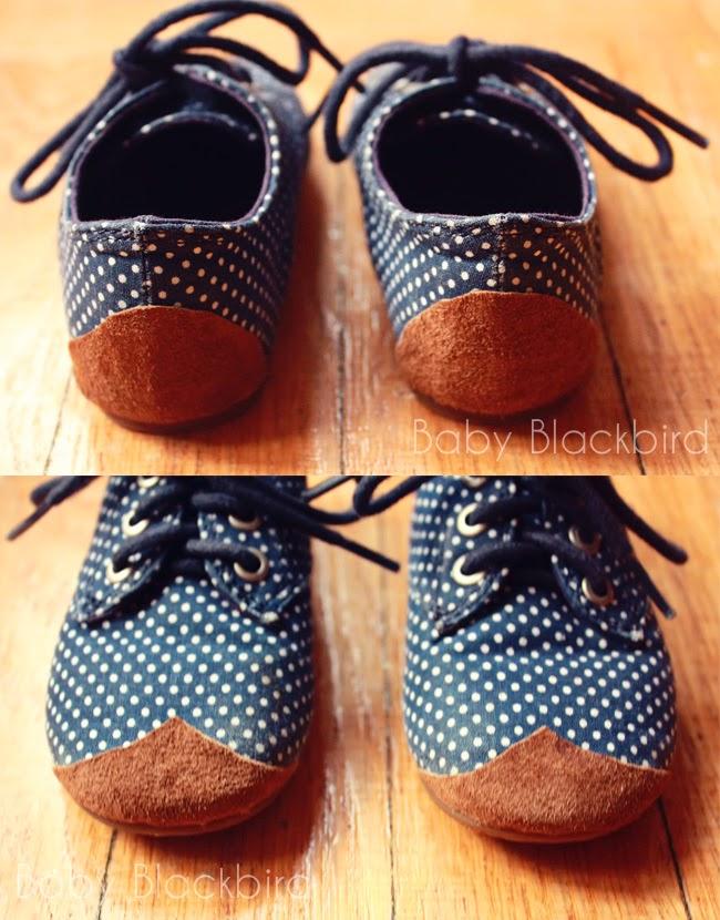 Zapatos arreglados con diy sencillo