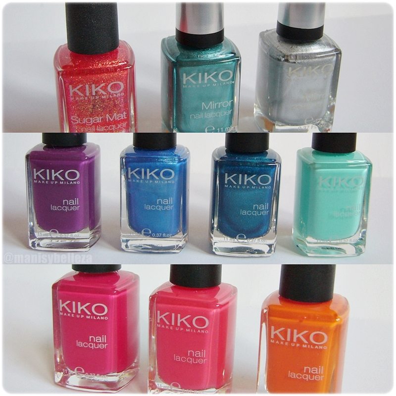 esmaltes kiko opinion review reseña