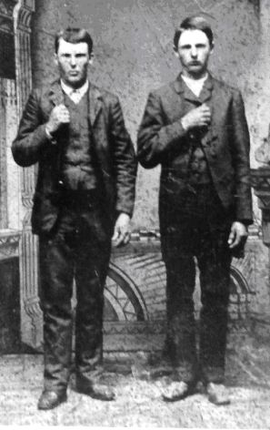 Frank and Jesse James