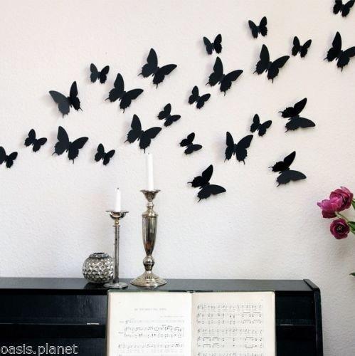 vinilo mariposas 3d