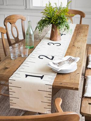 table Runner  Ruler Table runner ruler