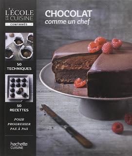 Tarte très croustillante choco-noisette ! Chocolat comme un chef un livre à dévorer...
