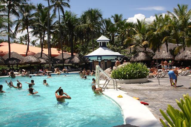punta cana piscina pool hotel riu