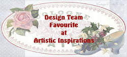 Desing team favourite challenge nº153 Artistic Inspiration