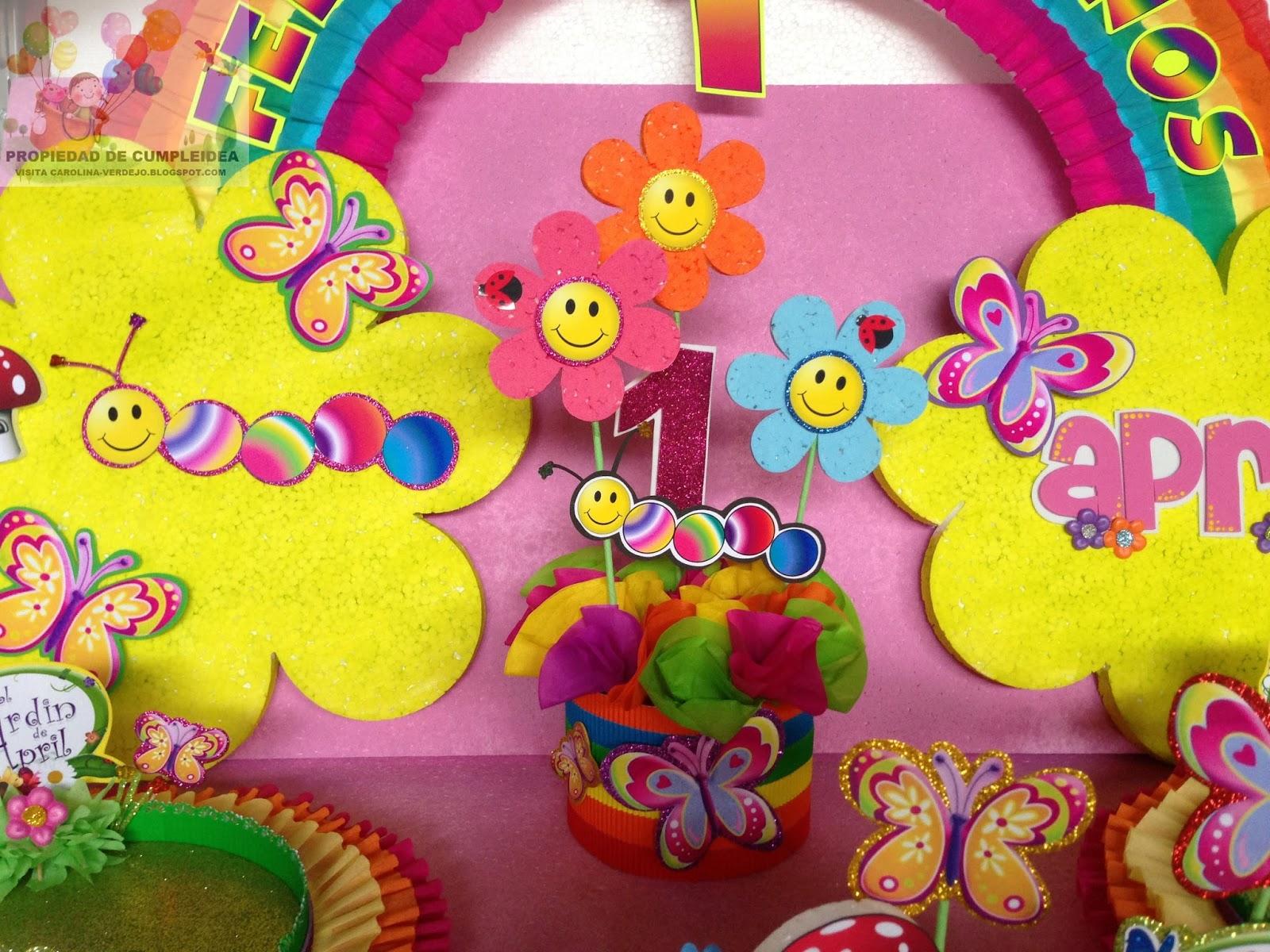 Decoraciones infantiles orugas y mariposas for Decoraciones infantiles