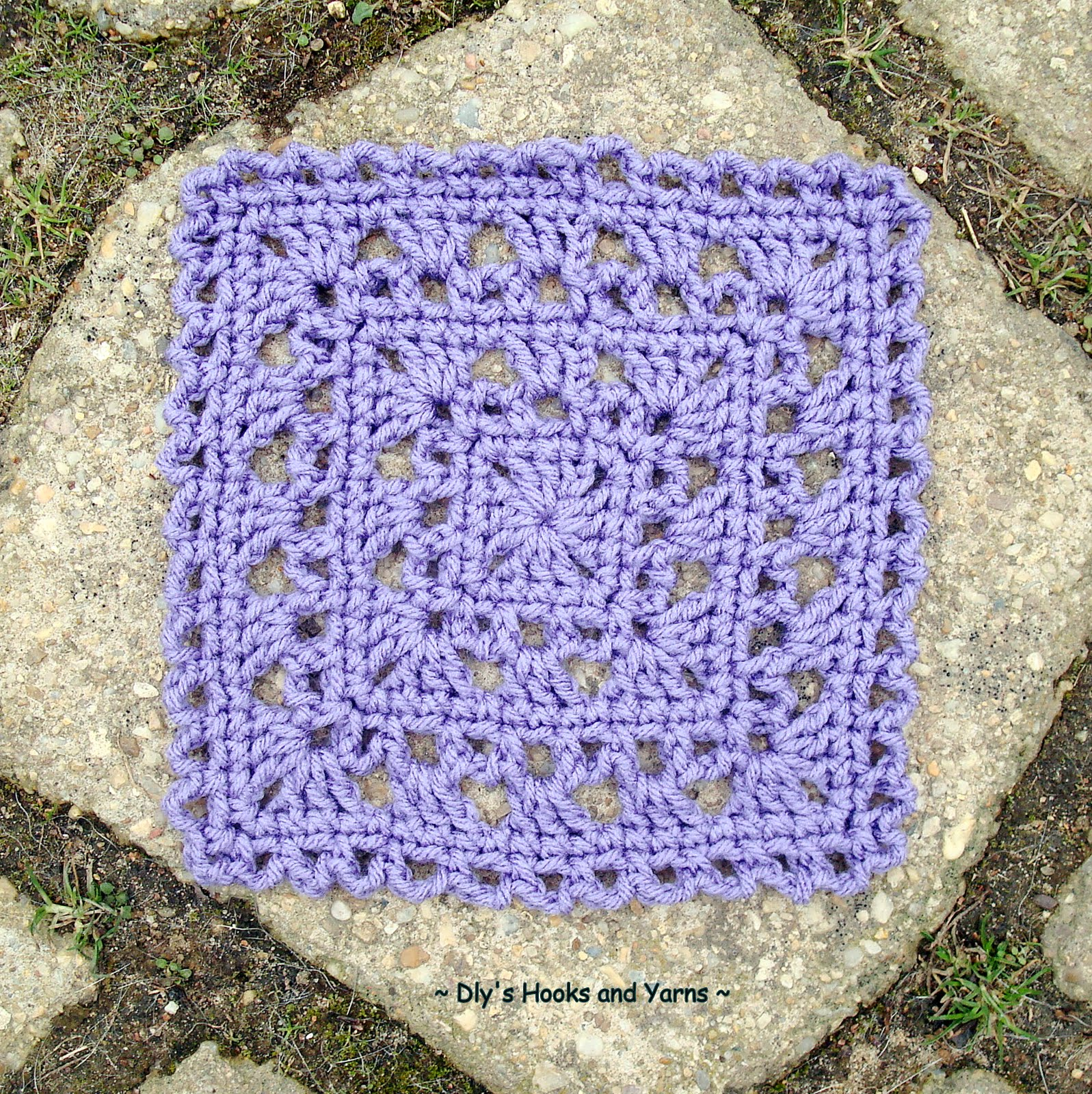 Free Crochet Patterns 6 Inch Squares : Dlys Hooks and Yarns ~: ~ simply pretty