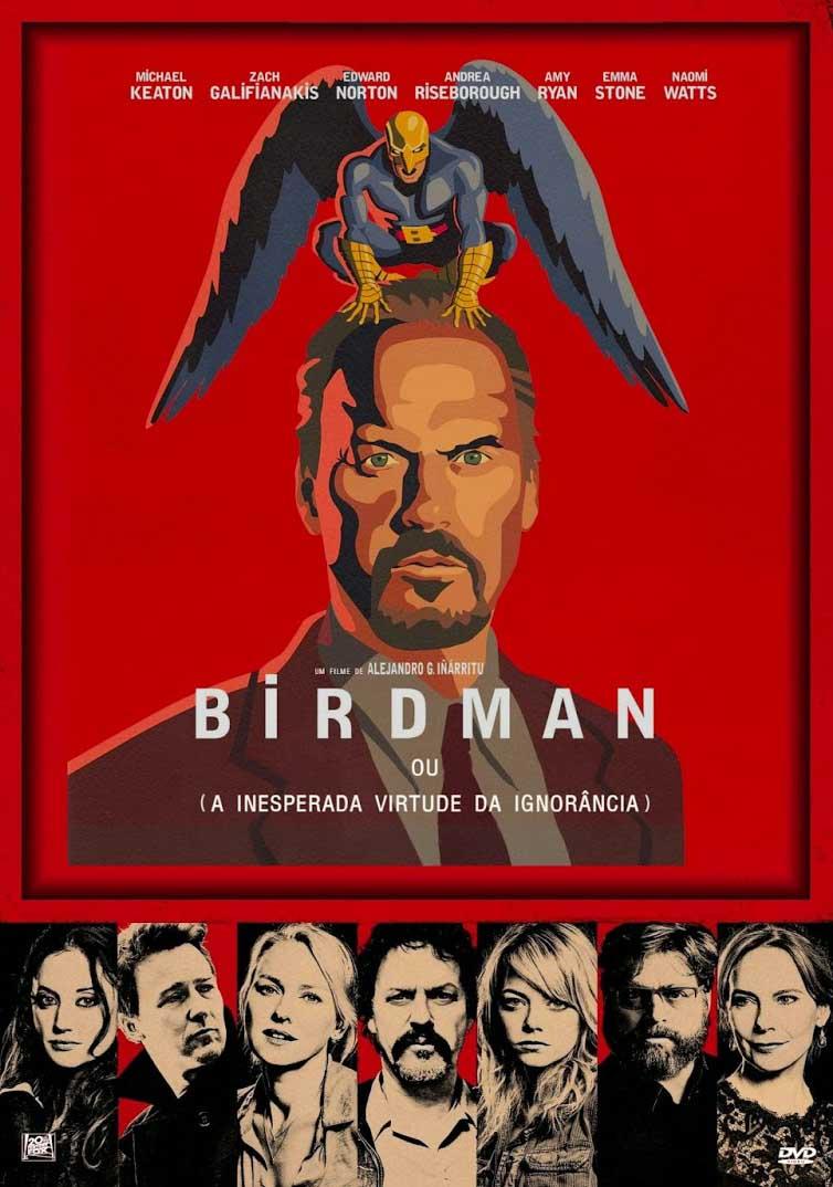 Birdman: A Inesperada Virtude da Ignorância Torrent - Blu-ray Rip 1080p Dual Áudio (2015)