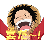 Animated ONE PIECE Sound Stickers