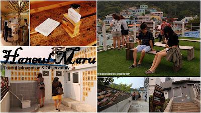 Haneul Maru (Tourist Info & Observatory), Gamcheon Culture Village