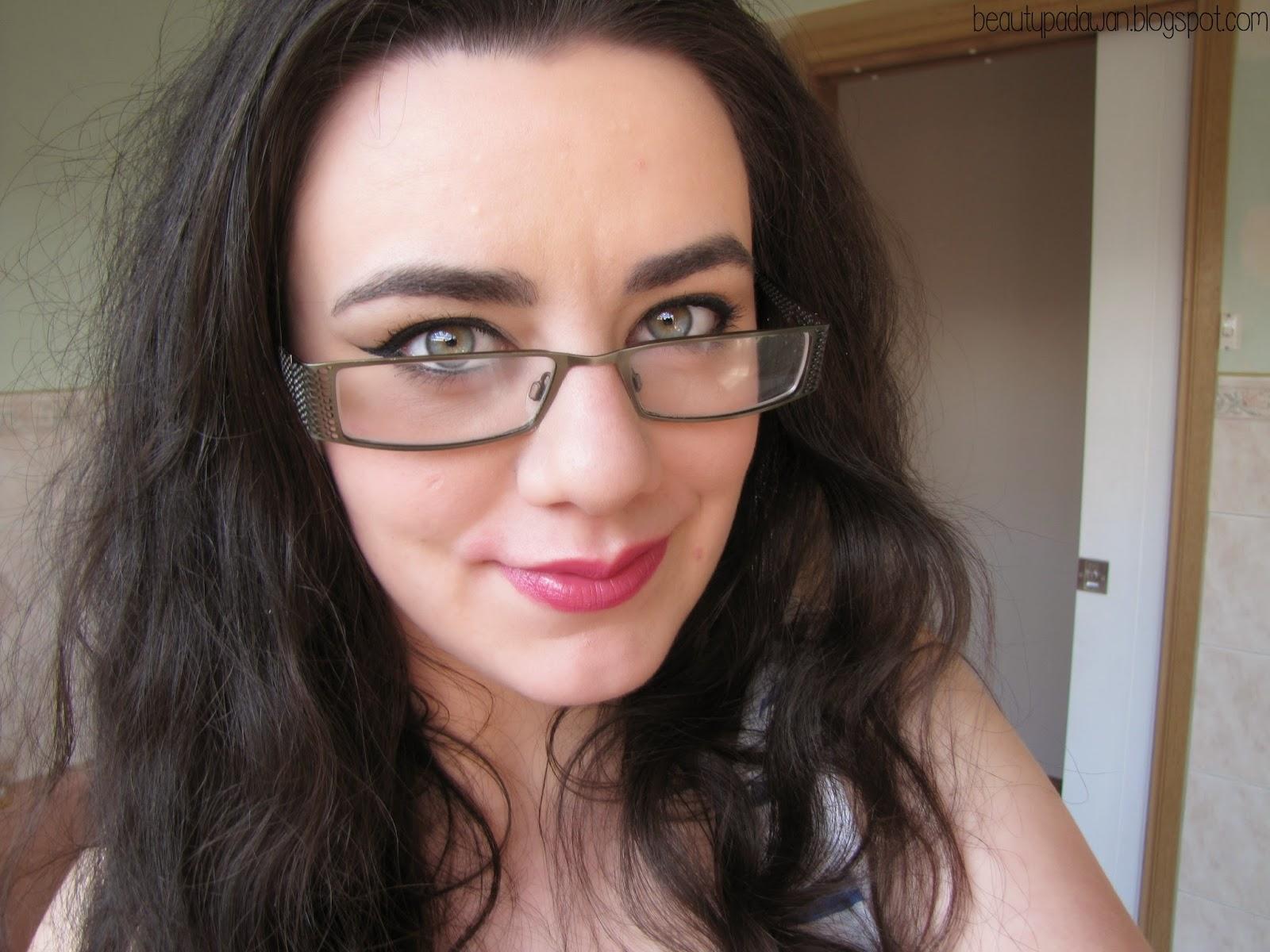"""Wearing MAC Novel Romance """"Yield to Love"""" lipstick"""
