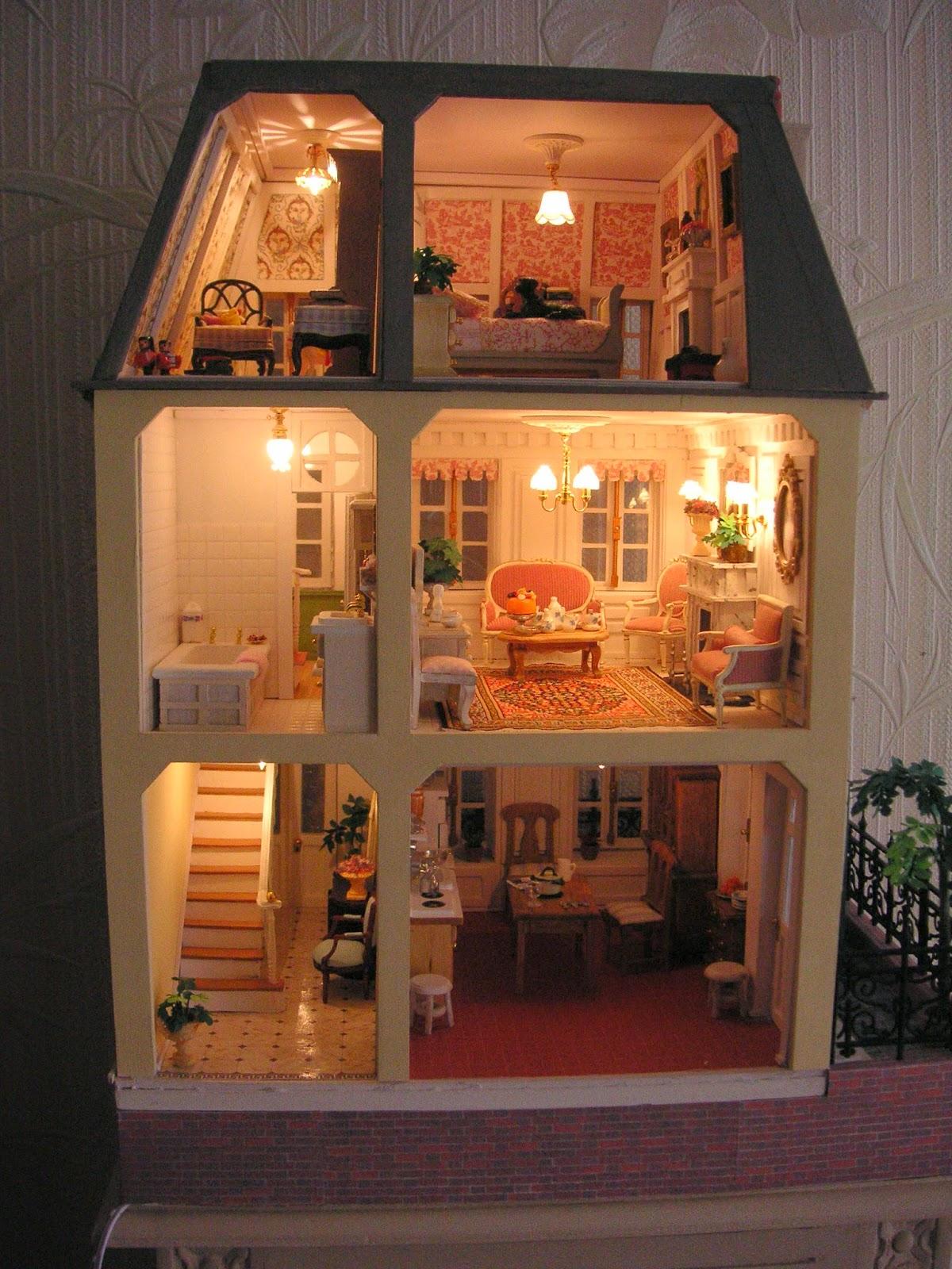 la maison de l a l 39 chelle 1 24 me. Black Bedroom Furniture Sets. Home Design Ideas